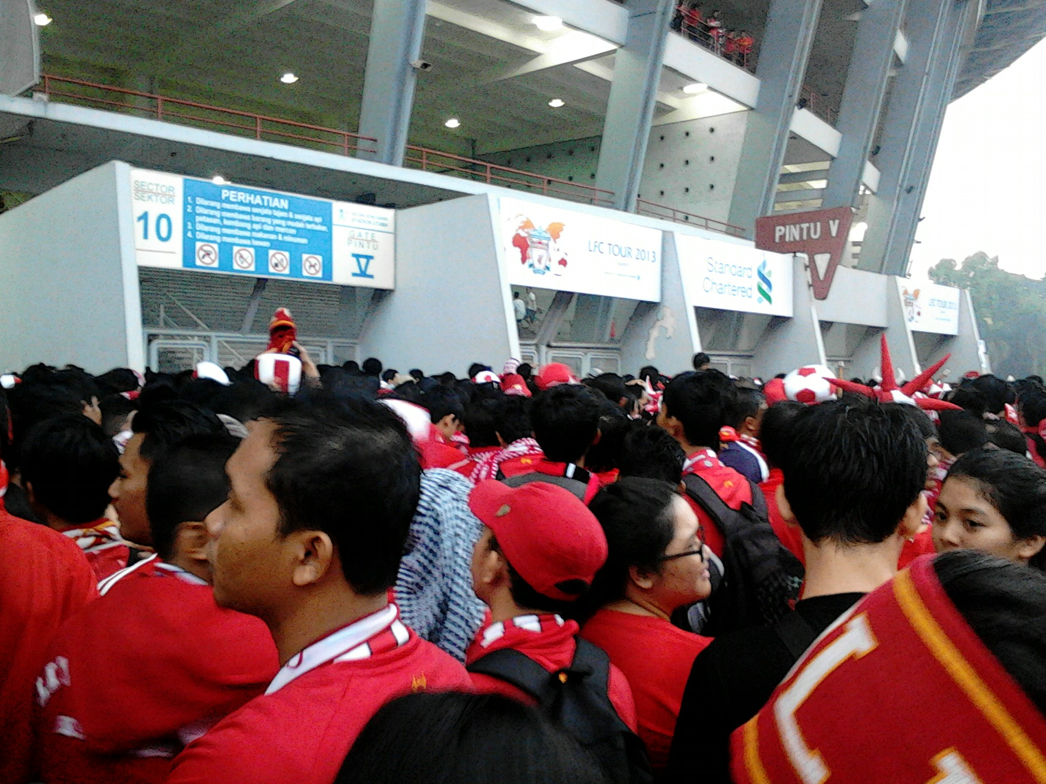Catatan Liverpool Football Club Tour 2013 Jakarta Indonesia