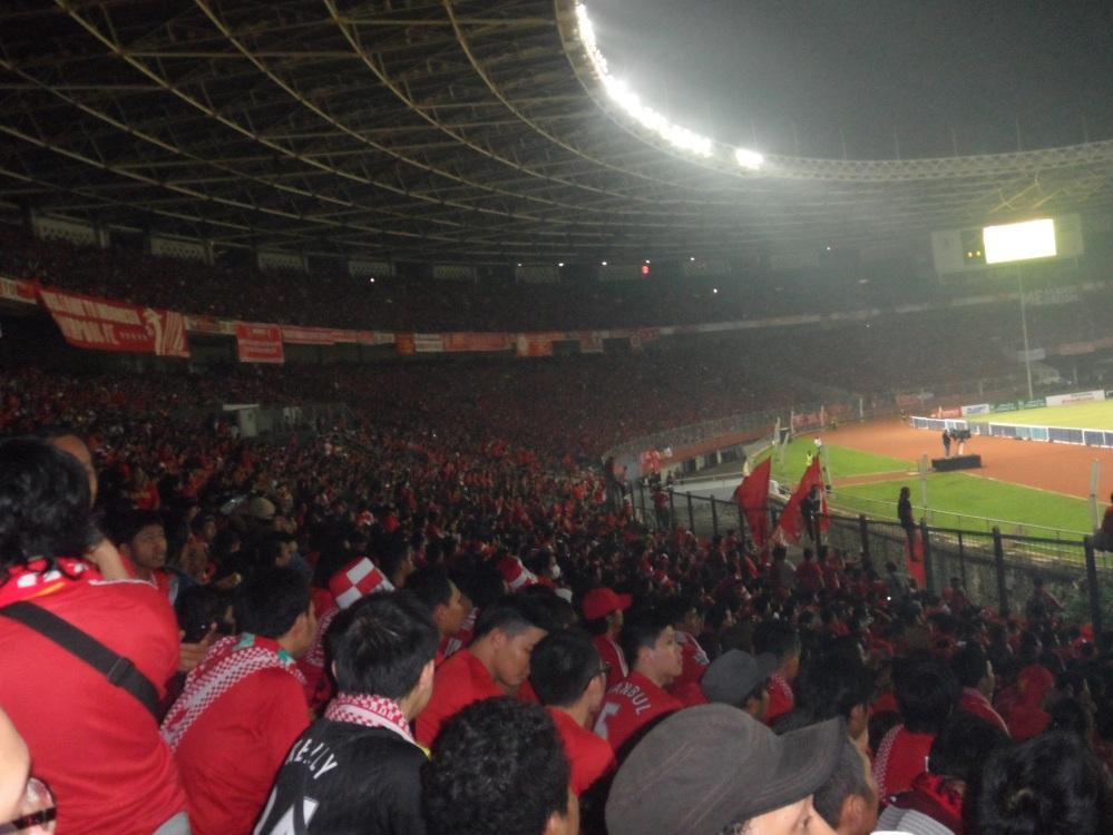 SU-GBK 20 Juli 2013. Merah!