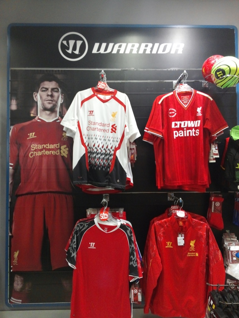 LFC Warrior Corner - Sports Station