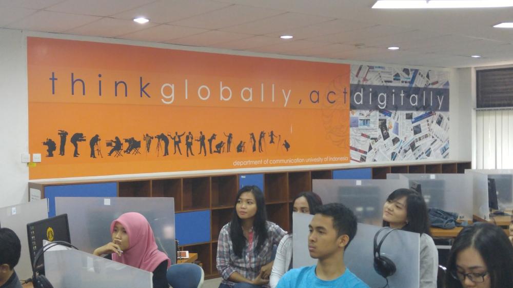 Think globally, act digitally!