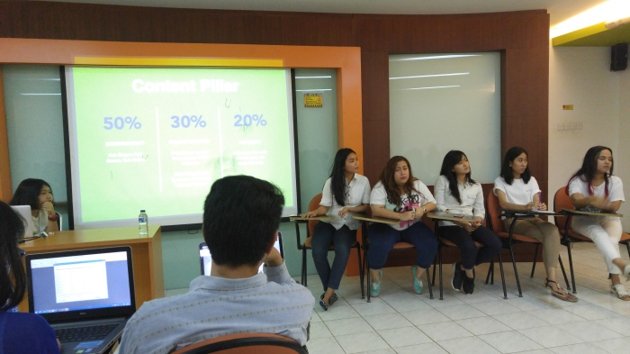 Kelompok FOXY, on digital agency-client role play