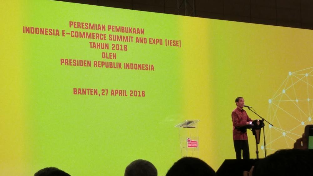 DIbuka oleh Presiden RI, Bapak Joko Widodo