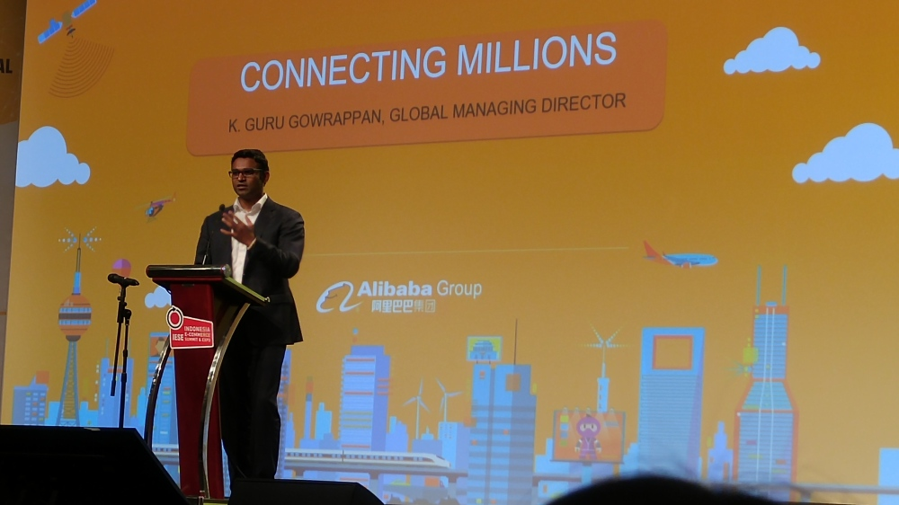 Guru Gowrappan, Alibaba Group Global Managing Director