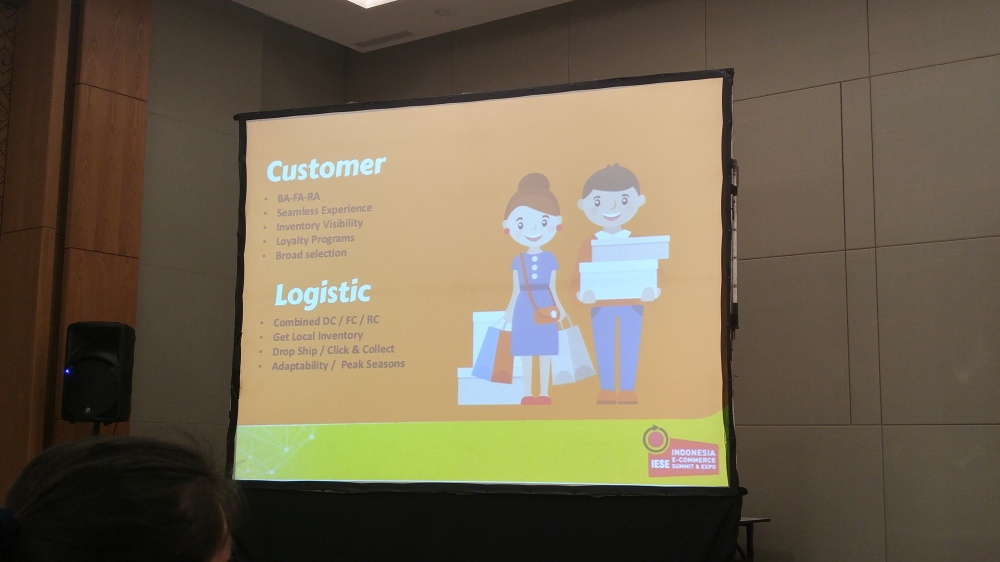 Omni-channel from customer & logistic POV