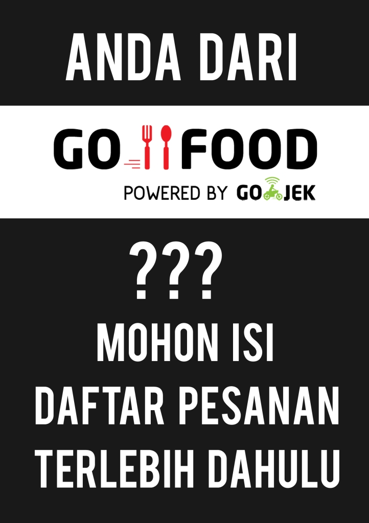 GOFOOD SIGN