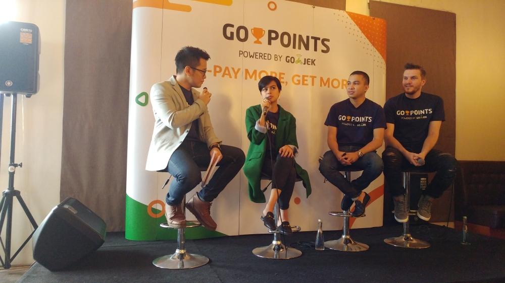 Suasana Launching & Media Gathering GO-POINTS